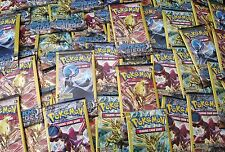 ♤•°Lot of (100) Pokemon ☆STEAM SIEGE☆ 3-Card Booster Packs°•♤