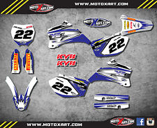 Yamaha YZF 450 2006 - 2008 SHOCKWAVE style full graphics kit / stickers / decals