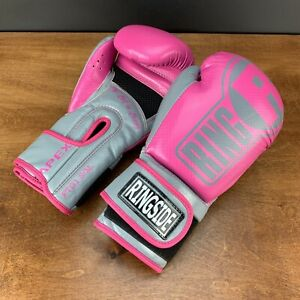Ringside Pink  tech boxing gloves S/M