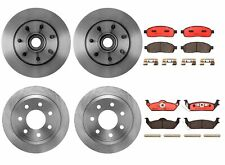 Front Rear Full Brembo Brake Kit Disc Rotors Ceramic Pads For Ford F-150 Mark LT