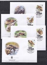 Russia 2004 - FDC - Dieren/Animals/Tiere (Beren/Bears) --> WWF