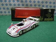 "PORSCHE  936  Le Mans  "" Martini  ""       -  1/43  Solido  86"