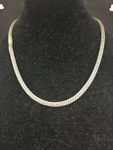 """John Hardy Necklace Sterling Silver 20""""  Long  Classic Chain 6.1MM"""