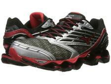 New Men's Mizuno Wave Prophecy 5 Running Shoes Size 9 Gunmetal/Red Last Pair