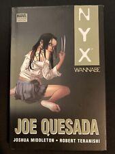NYX WANNABE TPB : JOE QUESADA : X-23, WOLVERINE : MARVEL COMICS 2011