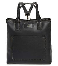 Kate Spade Maple Street Kenzie Convertible Backpack Medium Tote Black