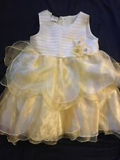 Holiday Editions Toddler Girls 3t Yellow Easter Christmas Holiday Dress