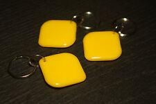 3 x NFC Tag con Mifare Classic ® CHIP-PORTACHIAVI rombo giallo - 1k
