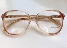 YSL YVES SAINT LAURENT VTG VIRGILE Eyeglasses Lunette Brille Occhiali Gafas