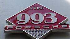 Porsche 911 993 Carrera Cabriolet turbo RS Club Grill badge emblem grille badge