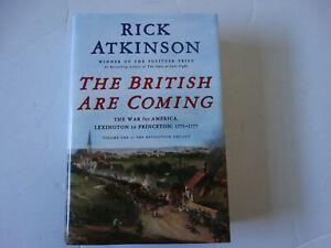 British Are Coming Book US Revolutionary War Military History Atkinson 1st Ed