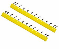 """2 - 5D9553, T66703 - Common 6ft Heat Treated Curved Grader Blades - 5/8""""x6""""x72"""""""