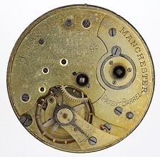 H SAMUEL MANCHESTER SWISS ACME LEVER POCKET WATCH MOVEMENT SPARES & REPAIRS C2