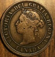 1888 CANADA LARGE CENT LARGE 1 CENT PENNY