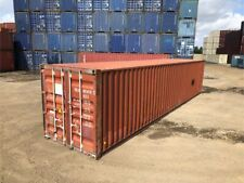 Used 40 Dry Van Steel Storage Container Shipping Cargo Conex Seabox Portland