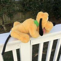 "Disney Parks Pluto Plush 14"" Toy Stuffed Animal Dog"
