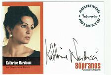 The Sopranos Season 1 Autograph Card A-KN Kathrine Narducci as Charmaine Bucco