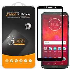 Full Cover Tempered Glass Screen Protector for Motorola Moto Z3 / Z3 Play- Black