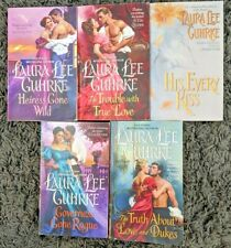 LAURA LEE GUHRKE HISTORICAL ROMANCE PAPERBACK 5 BOOK LOT NOVELS FREE SHIPPING!
