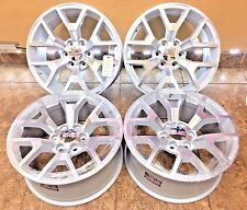 "20"" 20 inch GMC Sierra Yukon Machined Silver OEM Specs Wheels Rims 5698 4-set"