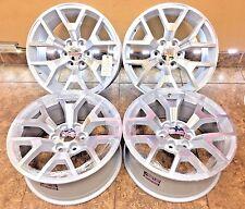 "20"" 20 inch GMC Sierra Yukon Machined Silver OEM Specs Wheels Rims 5698 4-set"