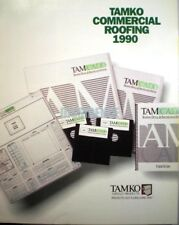 TAMKO Built Up Roof Roofing Systems Catalog ASBESTOS Specifications 1990 RARE!!