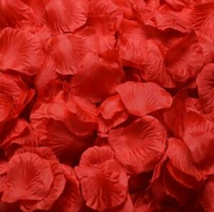 100 500 1000 rot Rosenblätter Rosenblüten Liebe Rose Hochzeit Romantik NEU