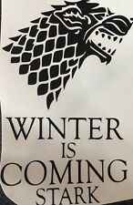 1x Game Of Thrones Inspired Vinyl Decal Sticker. Glass Not Included