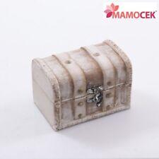 SCATOLA scatolina bauletto 12,5x8 h8 Legno bianco Shabby Bomboniera contenitore