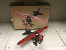 Harley Davidson Lockheed Vega 5B Highwing Airplane Die Cast Metal Bank Model