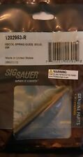 Sig Sauer Factory P226, P220, Legion Solid Guide Rod Blackened Stainless Steel