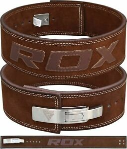 RDX Weight Power Lifting Belt Lever Pro Gym Training Powerlifting Strength Belts