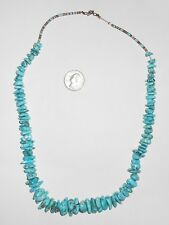 nugget necklace Vintage Turquoise