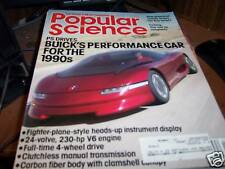 Popular Science 7/1986 Buick's Performance Car for '90s