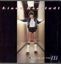 LINDA RONSTADT ~ LIVING IN THE U.S.A. ~ 1978 US 10-TRACK LP RECORD + G/FOLD