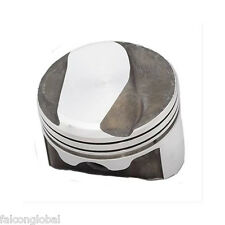 """Speed Pro Chevy 454 27cc Dome Coated Forged Pistons File Fit Rings 9.8:1 +.060"""""""
