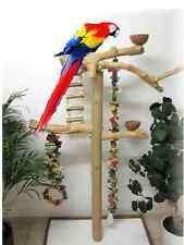 FREISITZ, Papageienspielzeug, aus ORIGINAL JAVA Holz, Arafreisitz, 165 cm, top