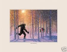 Sasquatch Bigfoot Collectible Original Digital Painting