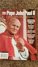 2004 TV Guides Pope John Paul II Commemorative Issue