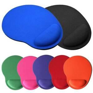Comfort Wrist Mouse Pad Mat Mousepad Non-slip Rubber Base For Laptop PC New