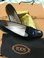 Tod's shoes donna made in Italy tacco a rocchetto n. 36,5