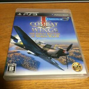 Combat Wings: The Greate Battle of WWⅡ PlayStation3 PS3 CyberFront Used Japan