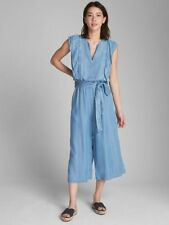Gap Ruffle Sleeve Jumpsuit in TENCEL, sz M Medium # 336968