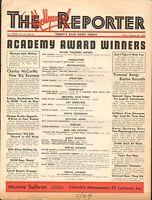 FEB 24 1939 HOLLYWOOD REPORTER movie magazine ACADEMY AWARD WINNERS