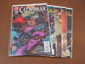 CATWOMAN #33-37 VF-NM COMPLETE RUN BATMAN NIGHTWIN ORACLE ROBIN JIM BALENT ART