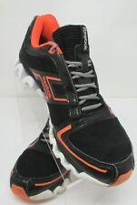 REEBOK Ziglite Zigtech Size 7.5 Men Running Shoes Black Orange
