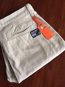 SUPERDRY COMPANY COMMODITY SLIM  PANTS( LARGE) $ 98