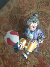 More details for nadal clown figurine. pre-owned. perfect condition.