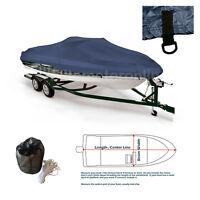 Fishing Ski Pro Style Bass All Weather boat storage cover fits upt 18'L