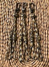 Duck Goose Waterfowl Removable Paracord Lanyard Camo Double Loop Drops
